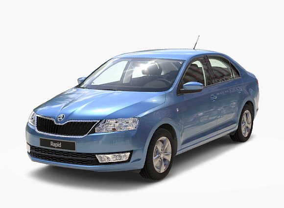 skoda rapid denim