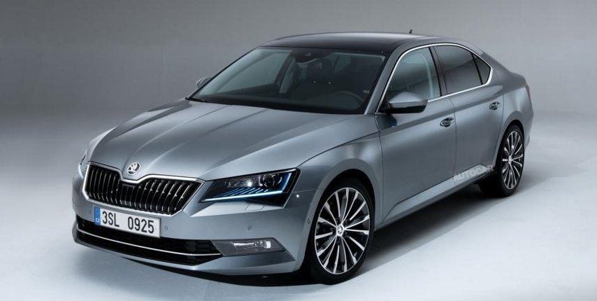 skoda superb russia